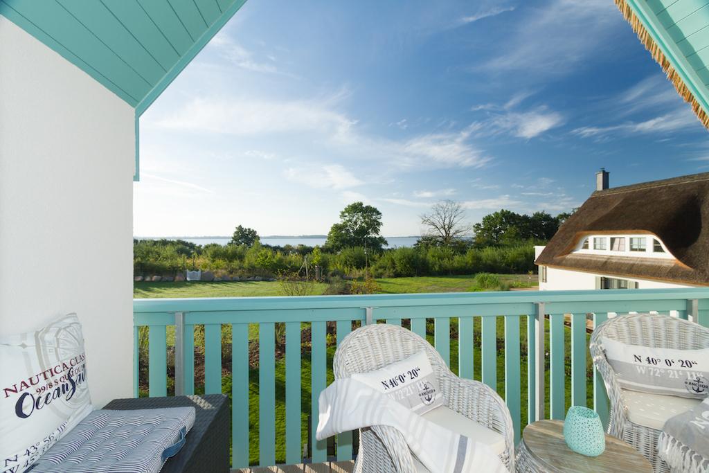 Ferienhaus Nautilus Balkon mit Meerblick